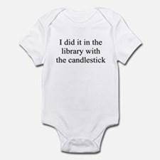 I DID IT IN THE LIBRARY WITH Infant Bodysuit