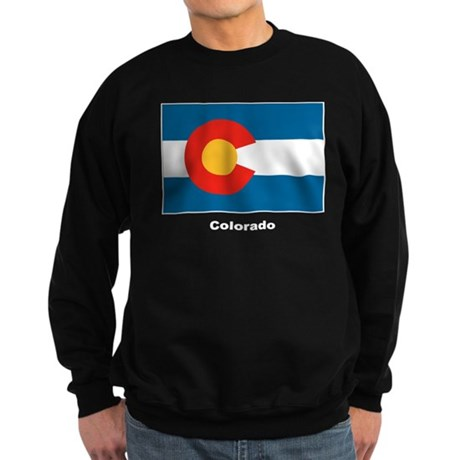 Colorado State Flag Sweatshirt (dark)