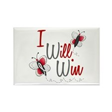 I Will Win 1 Butterfly 2 PEARL/WHITE Rectangle Mag