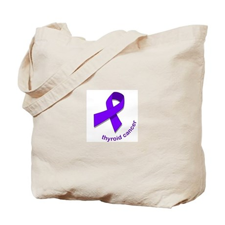 Thyroid Cancer Tote Bag