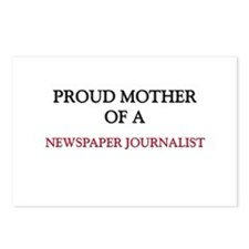 Proud Mother Of A NEWSPAPER JOURNALIST Postcards (