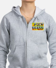 Fort Worth Texas Greetings Zip Hoodie