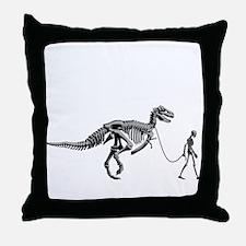 Dinosaur Walk Throw Pillow