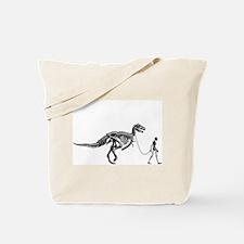 Dinosaur Walk Tote Bag