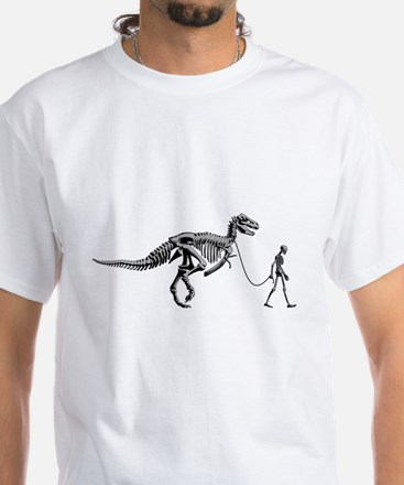 Dinosaur Walk White T-Shirt