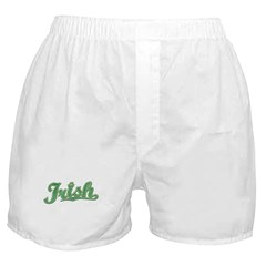'Vintage' Team Irish Boxer Shorts
