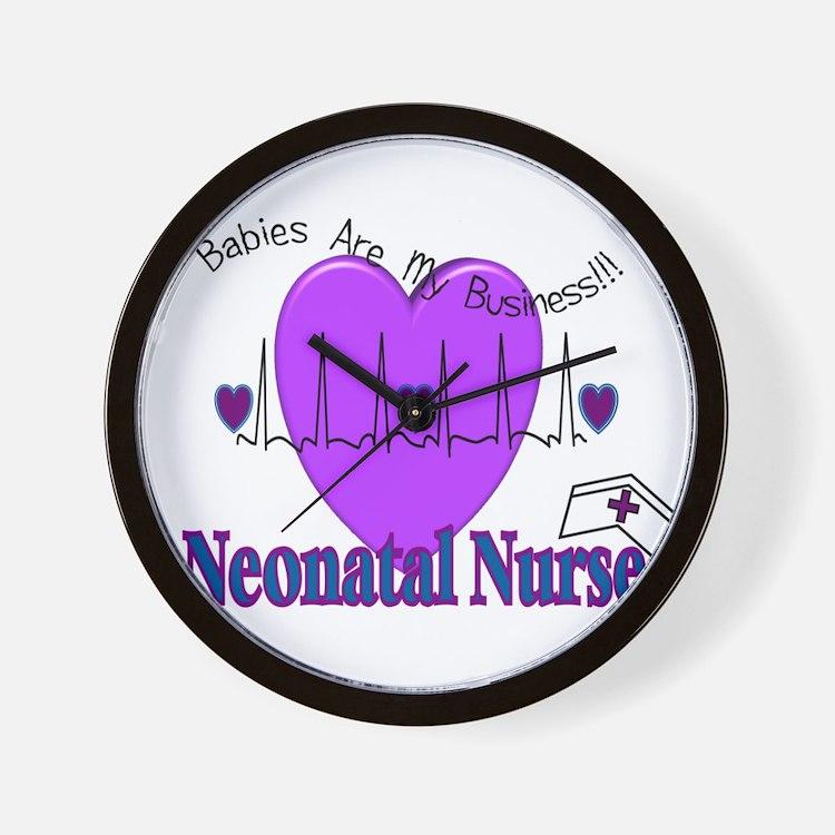 Neonatal/NICU Nurse Wall Clock