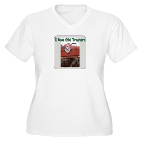 Alis Chalmers Women's Plus Size V-Neck T-Shirt