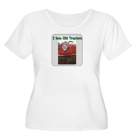 Alis Chalmers Women's Plus Size Scoop Neck T-Shirt