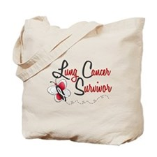 LC Survivor 1 Butterfly 2 Tote Bag