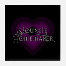Siouxsie Knitter CM Tile Coaster