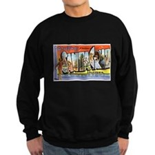 Santa Cruz California Greetin Sweatshirt