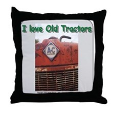 Alis Chalmers Throw Pillow