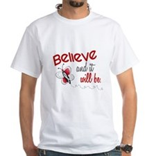 Believe 1 Butterfly 2 PEARL/WHITE Shirt