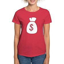 Money Bag Women's Fit T (white logo)