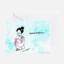 Madama Butterfly Greeting Cards (Pk of 10)