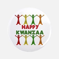 "African Dancers 3.5"" Button (100 pack)"