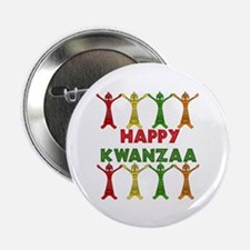 """African Dancers 2.25"""" Button"""