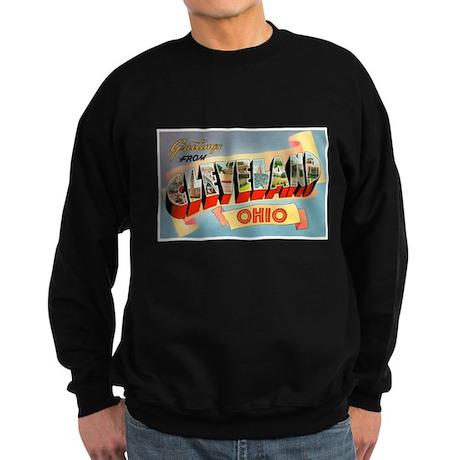 Cleveland Ohio Greetings Sweatshirt (dark)