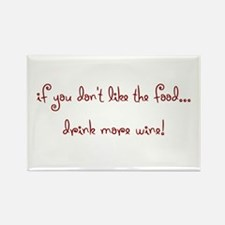 drink more wine! Rectangle Magnet