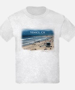 T-Shirt, Grey or White Venice Photo