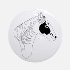 Profile of Pride Ornament (Round)