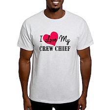 I Love My Crew Chief T-Shirt