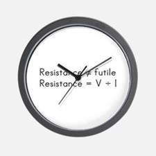 Tri humor Wall Clock