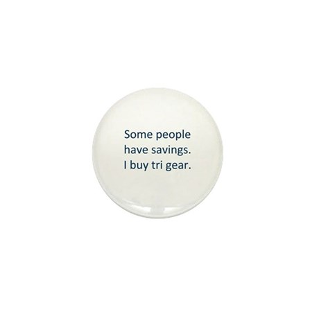 Tri gear humor Mini Button (10 pack)