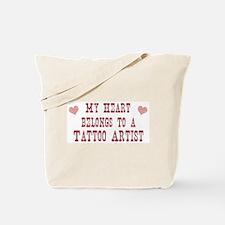 Belongs to Tattoo Artist Tote Bag