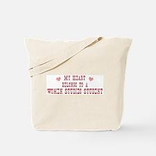 Belongs to Women Studies Stud Tote Bag