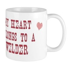 Belongs to Welder Small Mug