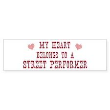 Belongs to Street Performer Bumper Bumper Sticker