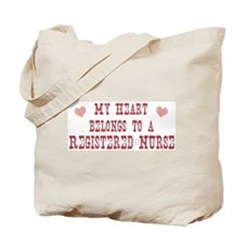 Belongs to Registered Nurse Tote Bag