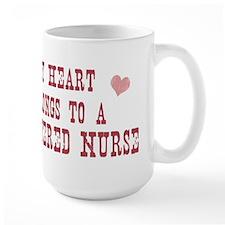 Belongs to Registered Nurse Mug
