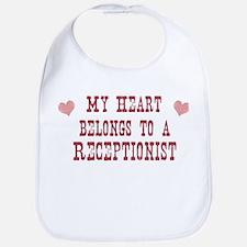 Belongs to Receptionist Bib