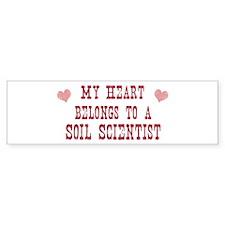 Belongs to Soil Scientist Bumper Bumper Sticker