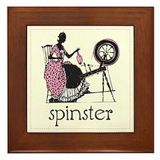 Spinster Framed Tile