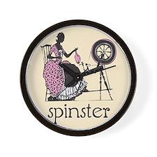 Spinster Wall Clock