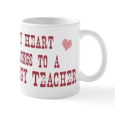 Belongs to Sociology Teacher Mug
