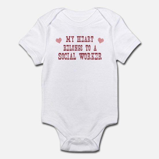Belongs to Social Worker Infant Bodysuit