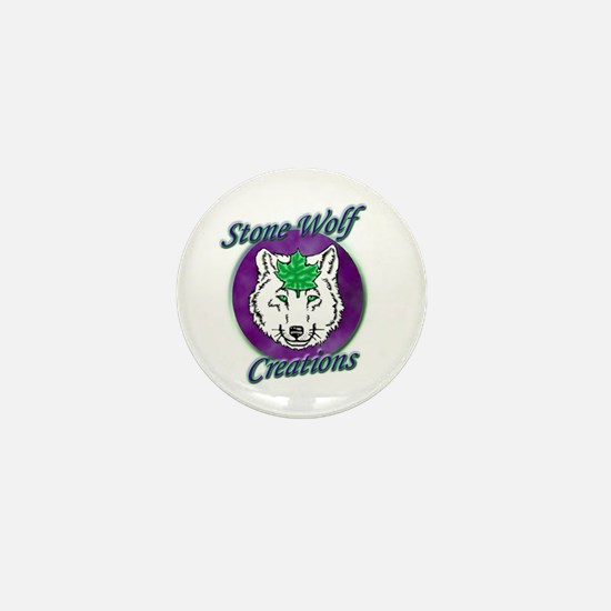 Stone Wolf Creations Mini Button