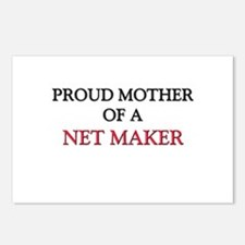 Proud Mother Of A NET MAKER Postcards (Package of