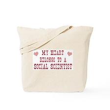 Belongs to Social Scientist Tote Bag