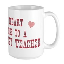 Belongs to Psychology Teacher Mug
