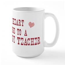 Belongs to Psychology Teacher Mug