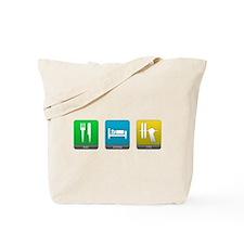Eat, Sleep, Lift Tote Bag