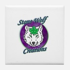 Stone Wolf Creations Tile Coaster