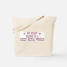 Belongs to Sheet Metal Worker Tote Bag