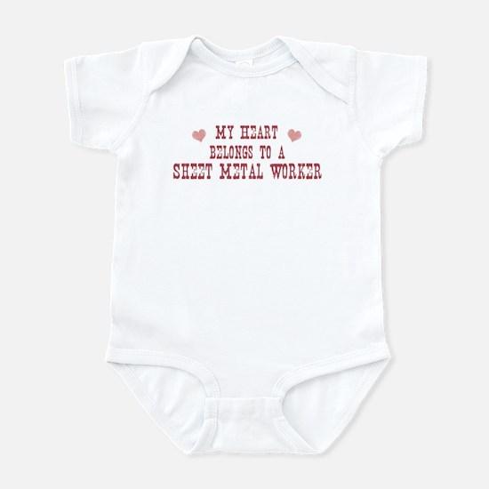 Belongs to Sheet Metal Worker Infant Bodysuit